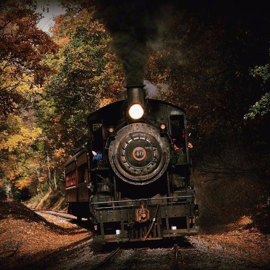 Haunted Halloween Train in Pennsylvania