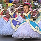 Three beloved things come together on Ryan Gosling Disneyland Cats.