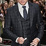 Channing Tatum wore a plaid suit for a July appearance in London.