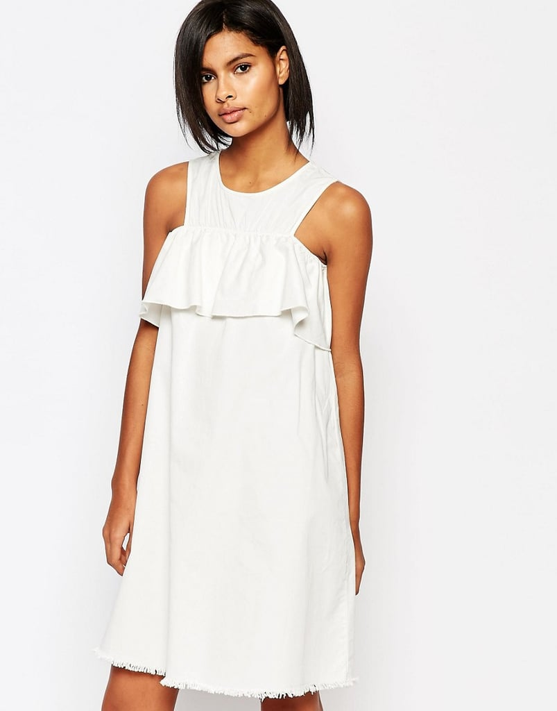 Vero Moda Bardot Ruffle Shift Dress ($62)
