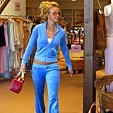 Early 2000s Fashion Trend: Juicy Couture Tracksuits