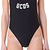 The GCDS Logo Swimsuit ($136) stays true to the street wear label's edgy aesthetic with a hint of side boob.