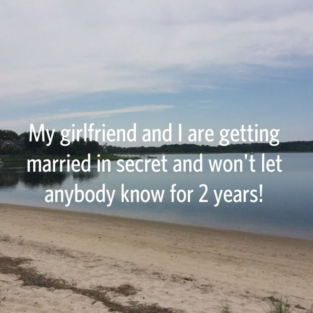 That's a pretty big secret to keep!