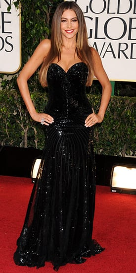 Sofia Vergara(2013 Golden Globes Awards)