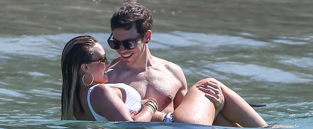 You Can Almost Feel the Sparks Between Hilary Duff and Her New Man