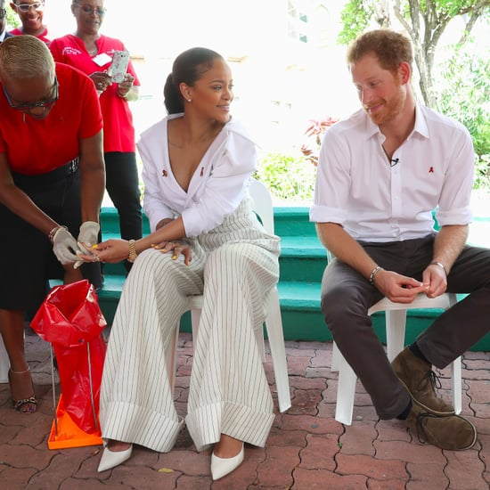 Rihanna Makes Fun of Prince Harry Video 2016