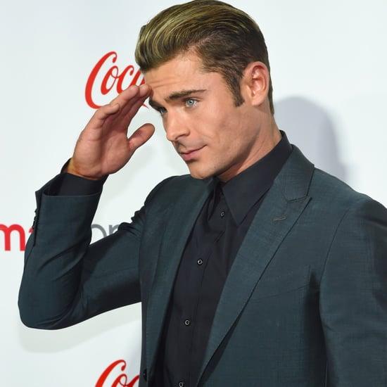 Zac Efron at CinemaCon in Las Vegas 2016