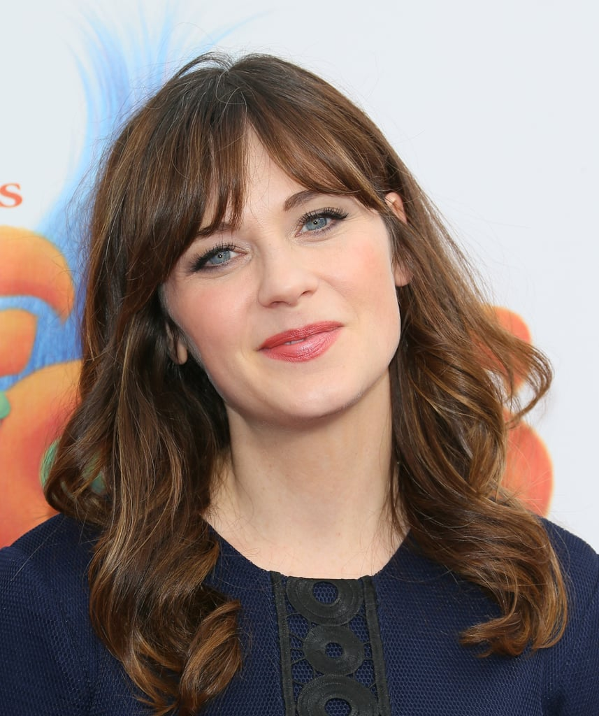 The Fine-Line Cover-Up as Seen on Zooey Deschanel | Hairstyles ...