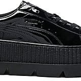 Fenty Puma by Rihanna Pointy Patent Leather Creeper Sneakers