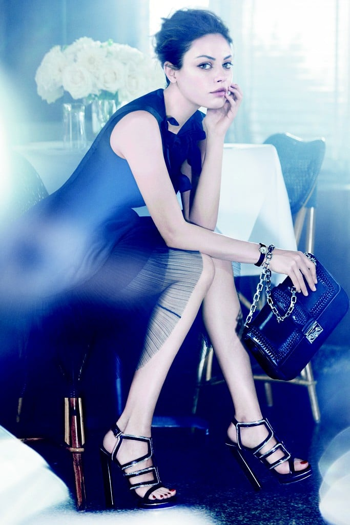 Dior Taps Mila Kunis for Spring 2012 Ad Campaign