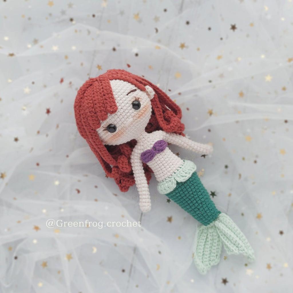 Disney Princess Doll Crochet Pattern — Ariel