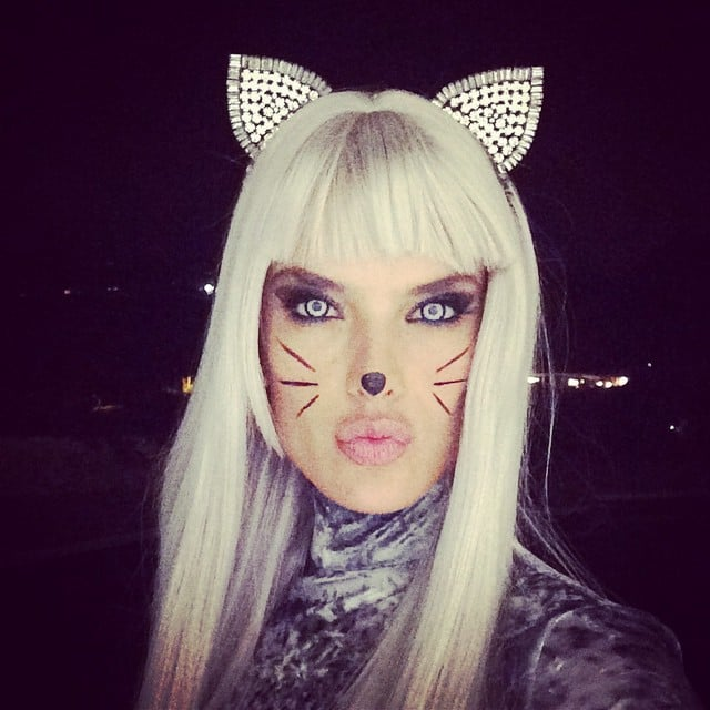 Look Back at All of Last Yearu0027s Memorable Celebrity Halloween Costumes!  sc 1 st  Popsugar & Celebrities Wearing Halloween Costumes 2014 | Pictures | POPSUGAR ...