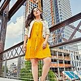 The Summer-to-Fall Dress: POPSUGAR Button-Front Dress
