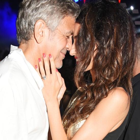 George et Amal Clooney à Ibiza