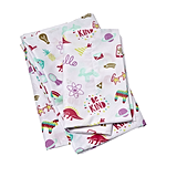 Pillowfort Doodle Darlings Scatter Twin Sheet Set ($18)