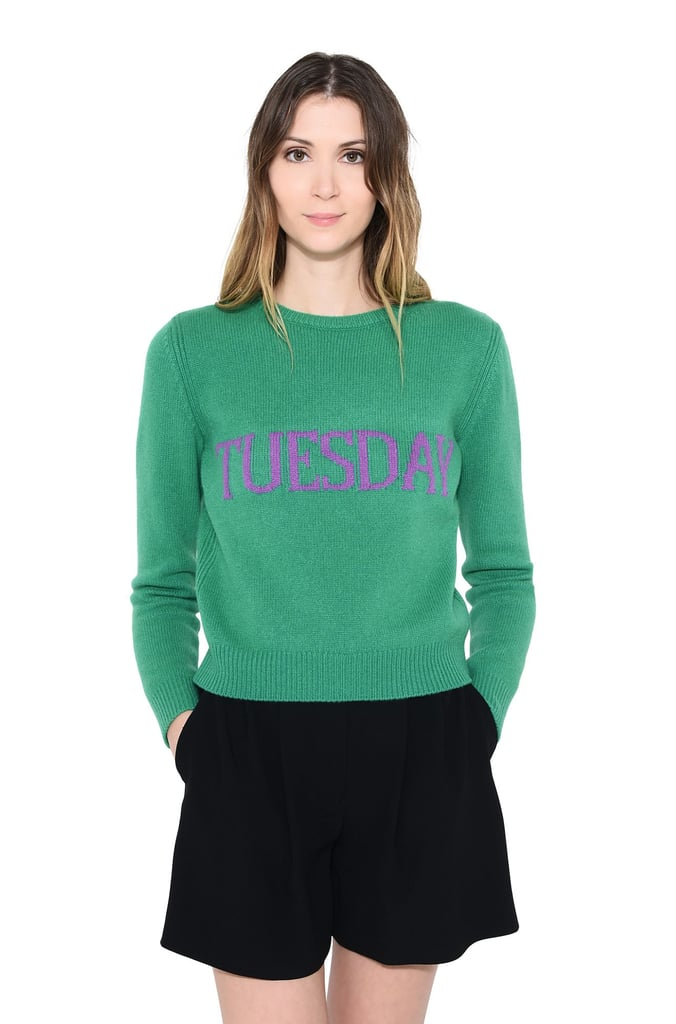 Alberta Ferretti Tuesday Sweater ($655) | Alberta Ferretti Days-of ...