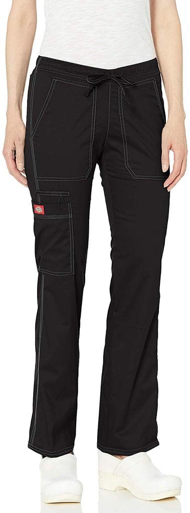 Dickies Low-Rise Straight-Leg Drawstring Pants