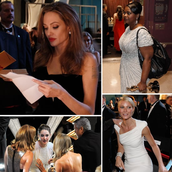 Best Oscars Pictures Backstage 2012