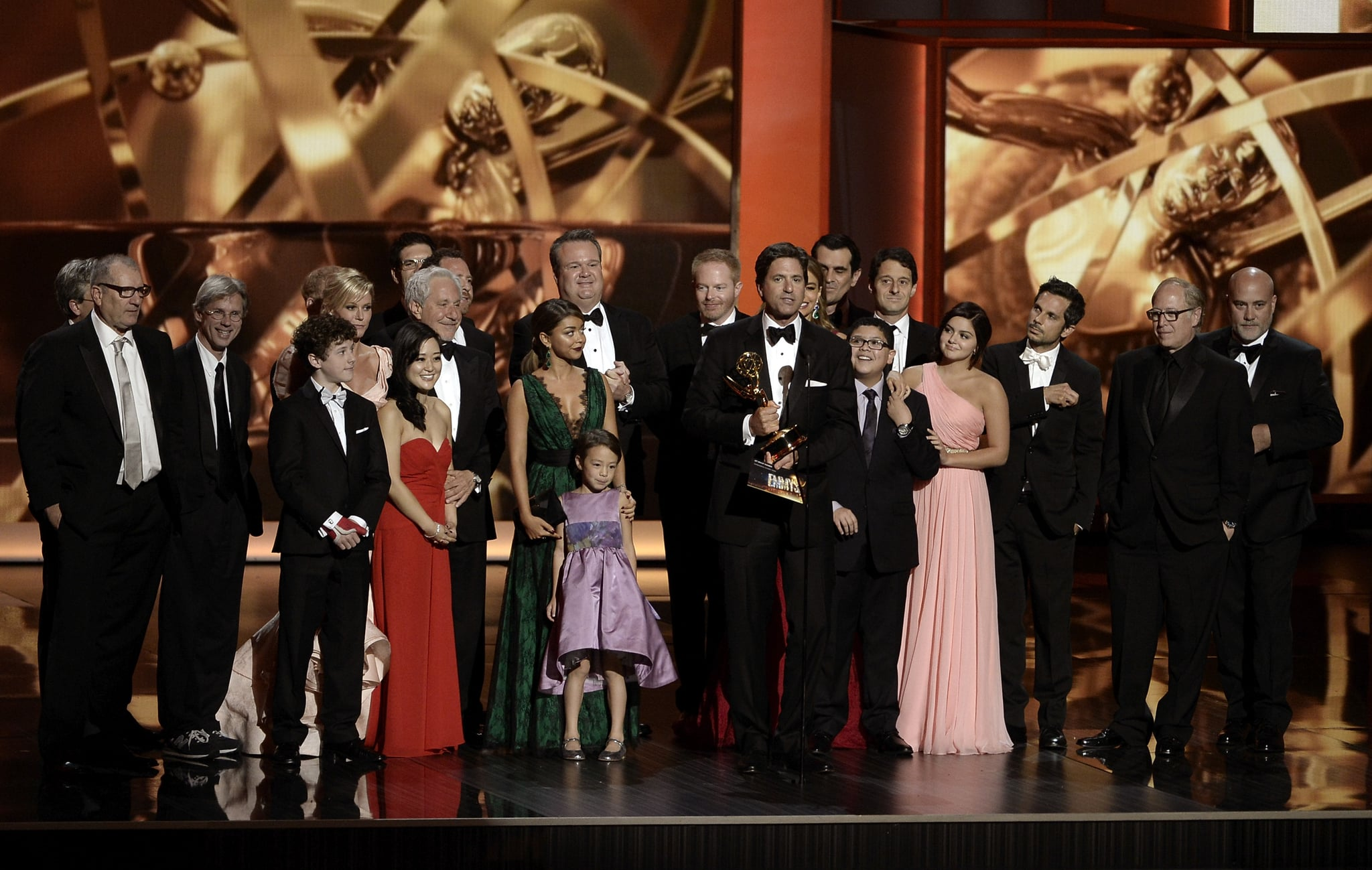Modern Family won for best comedy series.
