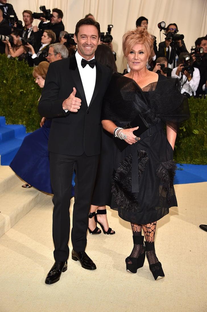 Hugh Jackman and His Wife at the Met Gala 2017   POPSUGAR ...