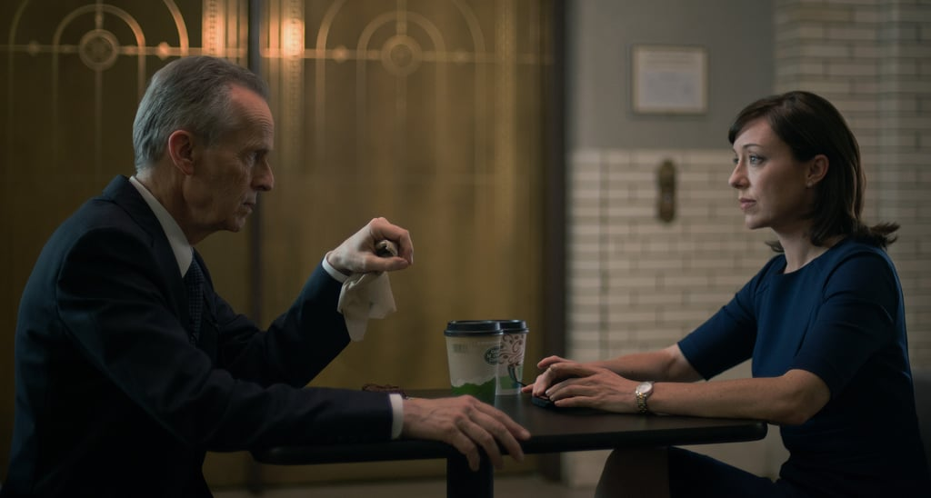 David Clennon and Molly Parker on House of Cards. Source: Netflix