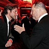 Bradley Cooper and Harvey Weinstein