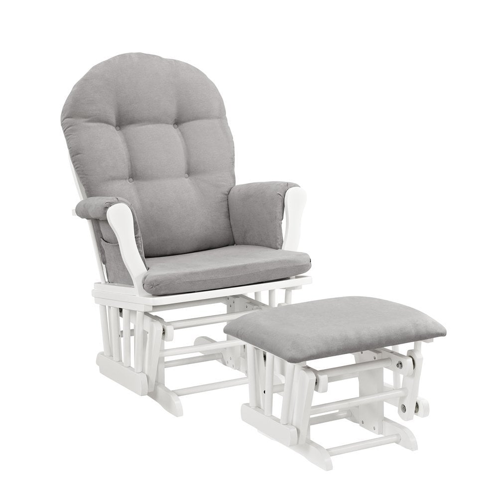 Windsor Glider With Ottoman