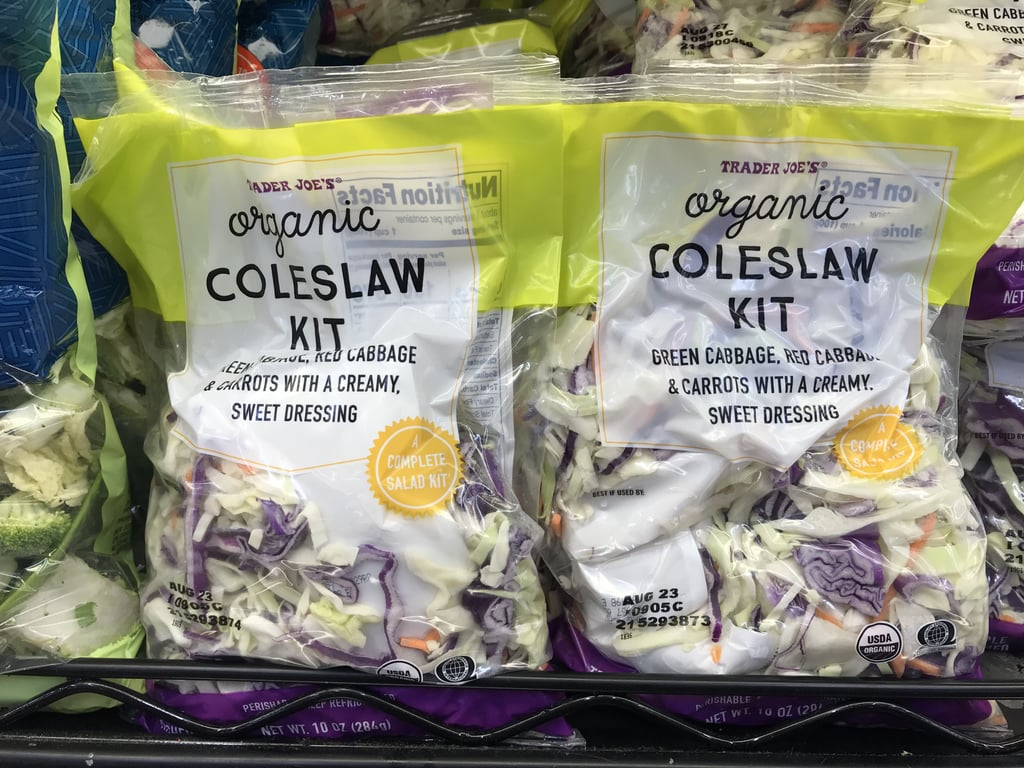 Trader Joe's Organic Coleslaw Kit ($3)