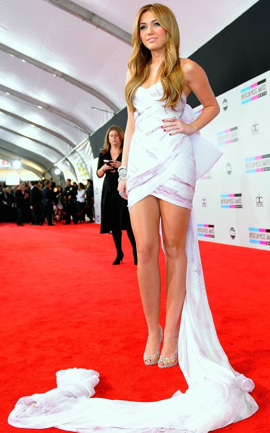 Pictures of Miley Cyrus at the American Music Awards
