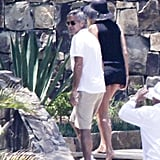 George Clooney and Stacy Keibler took a vacation to Mexico.