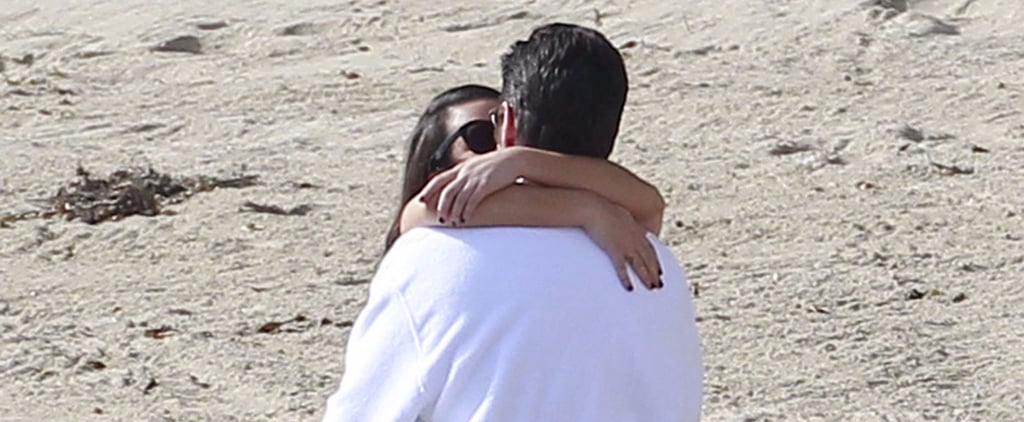 John Stamos and Lea Michele Have a Makeout Session on the Scream Queens Set
