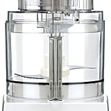 A food processor is great help in the kitchen. It makes chopping, prepping, and cleanup a breeze.   Cuisinart Pro Classic 7-Cup Food Processor in White ($130)