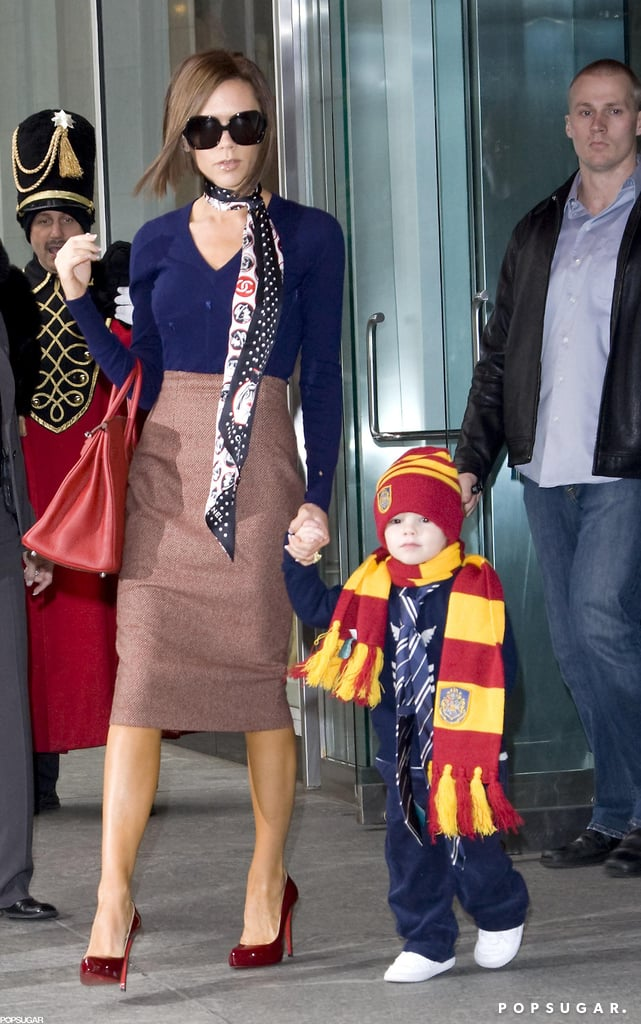 Cruz Beckham got one-on-one time with Victoria during a trip to FAO Schwarz in NYC in February 2008.