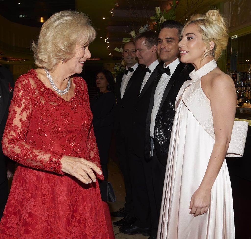 Lady Gaga at the Royal Variety Performance in London 2016