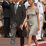 The duo got dressed up to attend the royal wedding of Prince Albert II and Princess Charlene in July 2011.