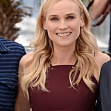 Diane Kruger had a fresh-faced smile at the Cannes Film Festival jury photocall.