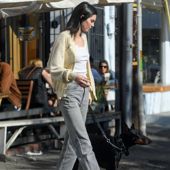 Kendall Jenner's Yellow Cardigan