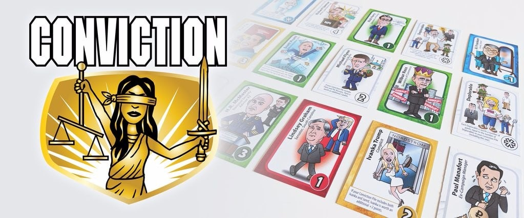 Meet the Creators of Conviction, the Ultimate Card Game For the Era of Trump