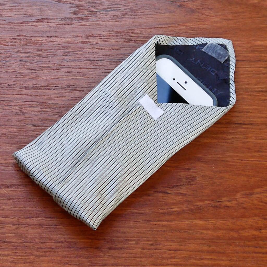 DIY Tie Phone Case