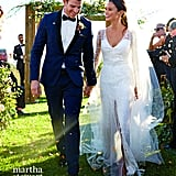 Jamie Chung's Wedding Dress Was So Special, It Appeared in a Magazine