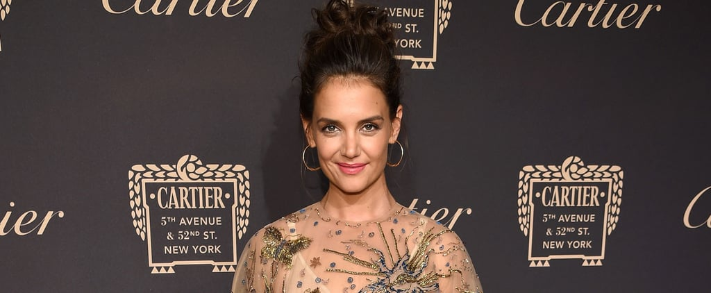 You'll Swear Katie Holmes Is a Princess When You See Her in This Gown