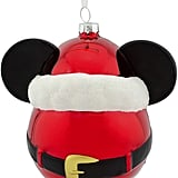 Disney Mickey Mouse Glass-Blown Ornament