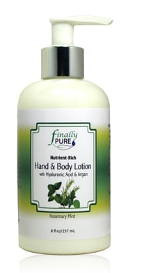 Finally Pure Rosemary Mint Hand and Body Lotion