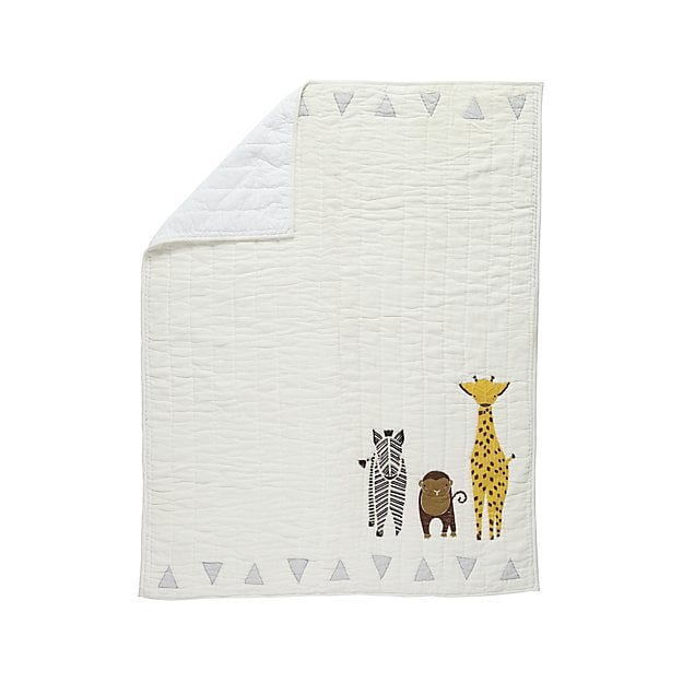 Safari Animal Baby Quilt