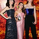 Pictured: Sophie Turner, Maisie Williams, and Sibel Kekilli