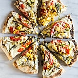 Grilled Corn, Tomato, and Onion Pizza