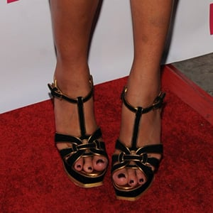 Guess Who is Wearing YSL Sandals?