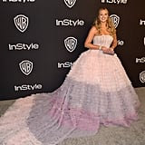 Iskra Lawrence at the 2019 Golden Globes Afterparty