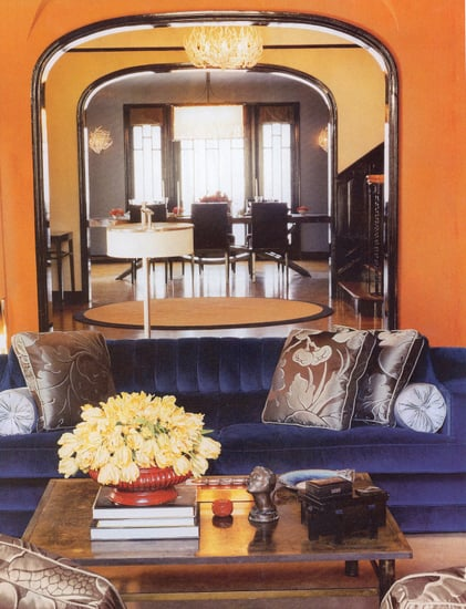 Midday Muse: Kate Walsh's Fiery Orange Walls