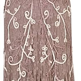 House of Fraser Chesca Plus Size Mink Ombre Cornelli Stretch Lace Dress